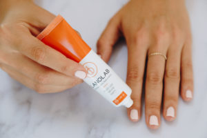 Applying-Lanolab - to-cuticles